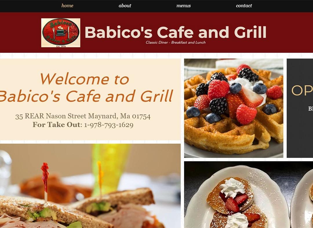 Babicos - Web Design - Hans van Putten